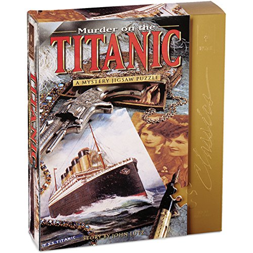 University Games Murder on the Titanic Mystery Jigsaw Puzzle