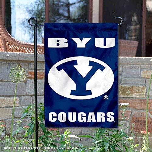 College Flags and Banners Co. Brigham Young Cougars Garden Flag