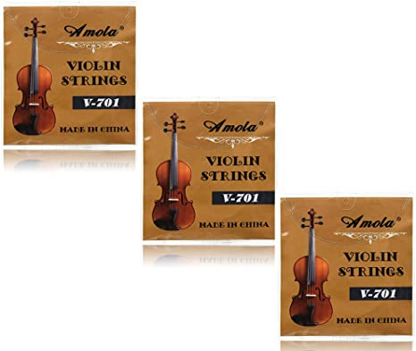 High Quality Replacement Set Of Import Stainless Steel Violin Strings GDAE