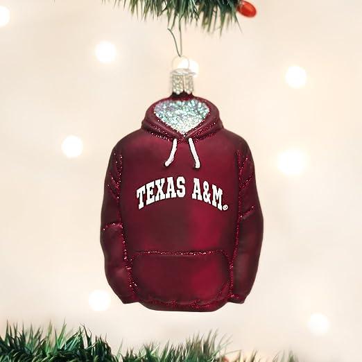 Old World Christmas Texas Tech University Glass Blown Ornaments for Christmas Tree Hoodie