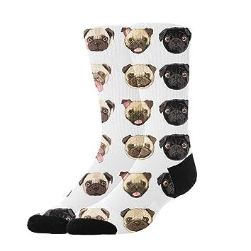 Abbigliamento sportivo Its Pug Life Athletic Tube Stockings Womens Mens Classics Knee High Socks Sport Long Sock One Size