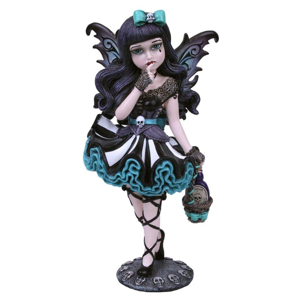 Colore: Nero Nemesis Now Statuetta Adeline 21 cm 16 cm