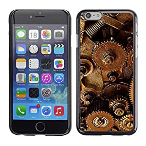TECHCASE**Cubierta de la caja de protección la piel dura para el ** Apple iPhone 6 Plus 5.5 ** Mechanism Technology Instrument Inside Art