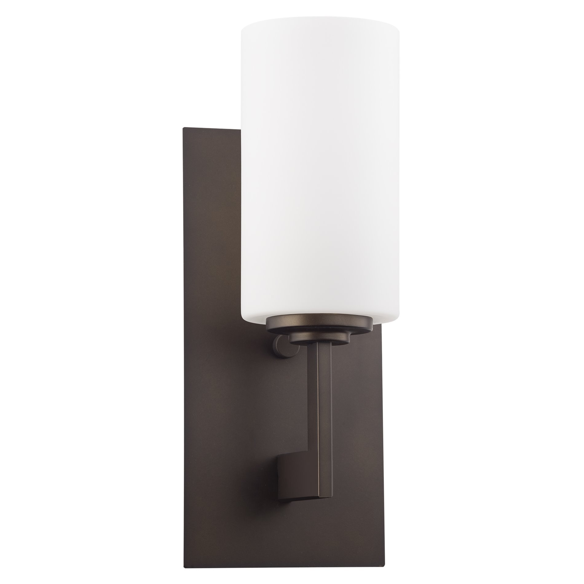 Kira Home Celene 13'' Wall Sconce/Wall Light + Frosted Glass Shade, Oil-Rubbed Bronze Finish by Kira Home