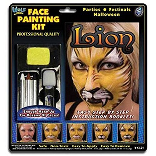 Lion  (Face Painting For Lion Costume)