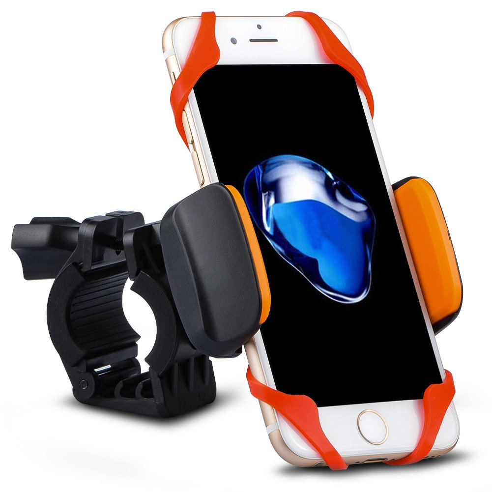 J/&D Bicycle Mount Samsung Galaxy S8 iPhone 8//8 Plus etc J/&D Tech 4351535006 Universal Retrackable Bike//Motorcycle Phone Mount Holder for All Smartphones: iPhone 7//7 Plus iPhone X