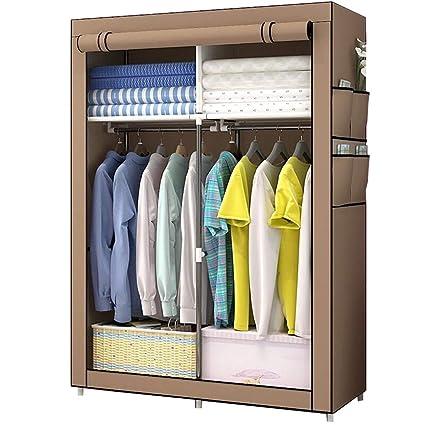 Amazon.com: TMY wardrobe Portable Closet Bedroom Storage Folding ...