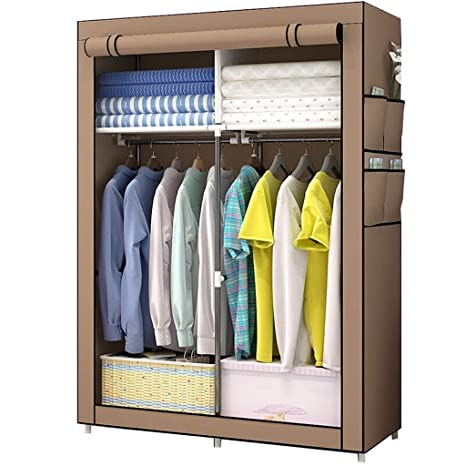 Amazon.com: LittleBeauty Foldable Wardrobe Portable Closet ...