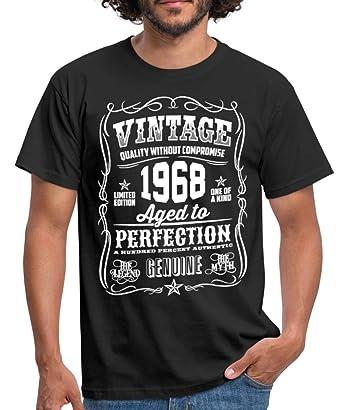 Spreadshirt 50th Birthday 1968 Birth Year Typography Slogan Mens T