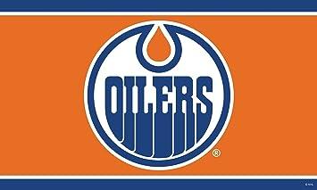 sports shoes 45e1d 57f9c Edmonton Oilers 3'x5' Flag, Outdoor Flags - Amazon Canada