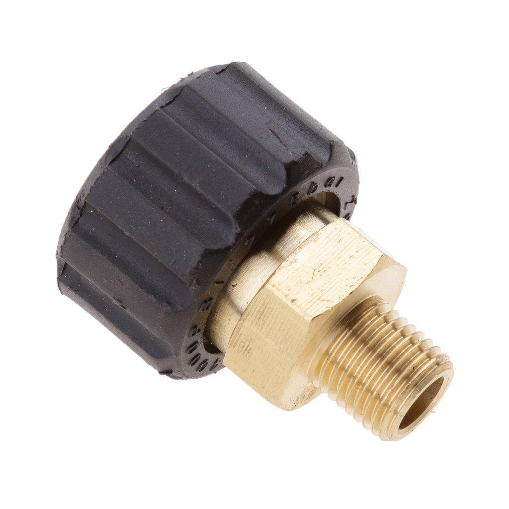 Homyl Raccord En Laiton Joint Laveuse /à Pression Connecteur M/âle 1//4 /à Femelle M22x1.5