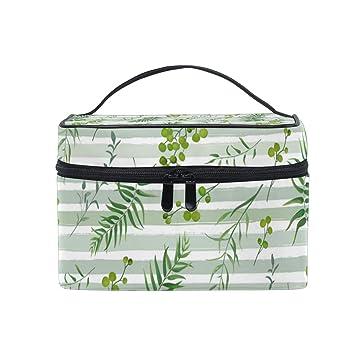 Amazon.com: Bolsas de maquillaje de viaje para mujer, diseño ...