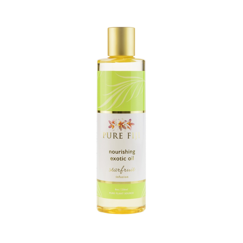 Pure Fiji Exotic Bath & Body Massage Oil-Starfruit 8 oz.