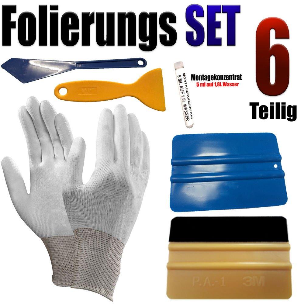 Auto Folien Vollfolierung Rakel Set 6 Teiligen Folierung Set