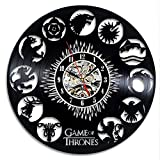 Game of Thrones Vintage Vinyl Clock Wall Decoration Gift For Sale
