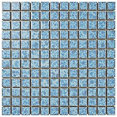 SomerTile Waterdesign Square Alboran Porcelain Floor and Wall Tile