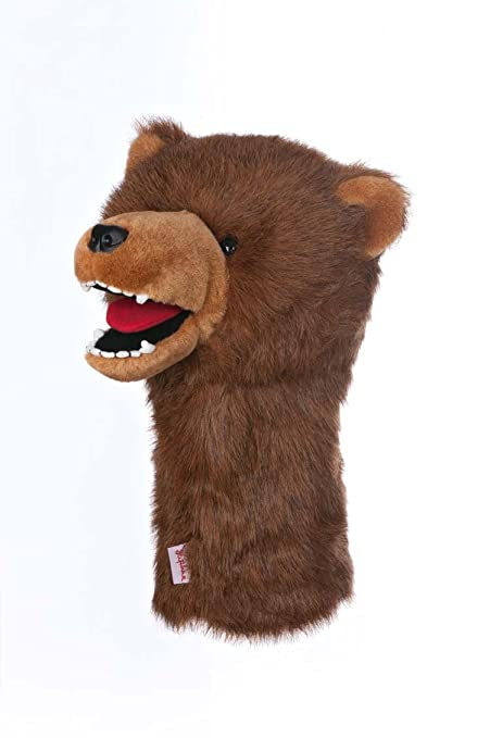 Amazon.com: Oversized Grizzly Bear Golf Cabeza cover: Sports ...