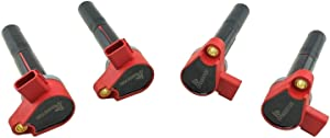 4 Ignition Coils for Mercury Verado Outboard Motor 4-Stroke EFI 75-400 HP Marine