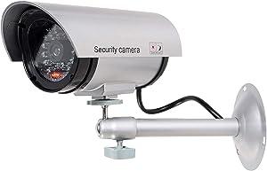 WALI Bullet Dummy Fake Surveillance Security CCTV Dome Camera (TC-S1)