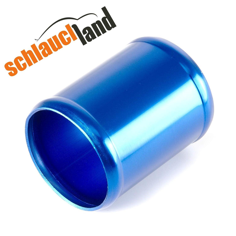 Alu-Rohr 30cm AD 64mm blau*** Alurohr Aluminium aluminium pipe Verbinder Turbo