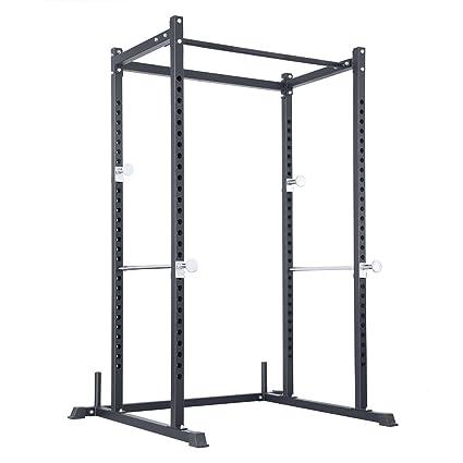 Amazon.com : LILIONGTH Atlas Power Rack Squat Deadlift Cage with ...