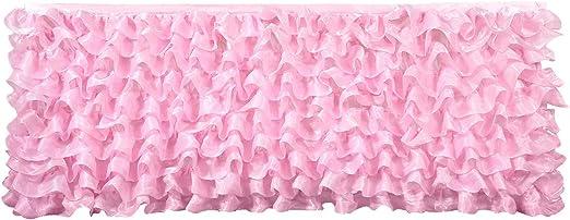 HBBMagic 100% poliéster mesa falda, hecho a mano Deluxe elegante ...