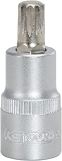 """product image for SK Hand Tool 4042146356708 1/4"""" Bit socket spline (XZN), M7, clear"""