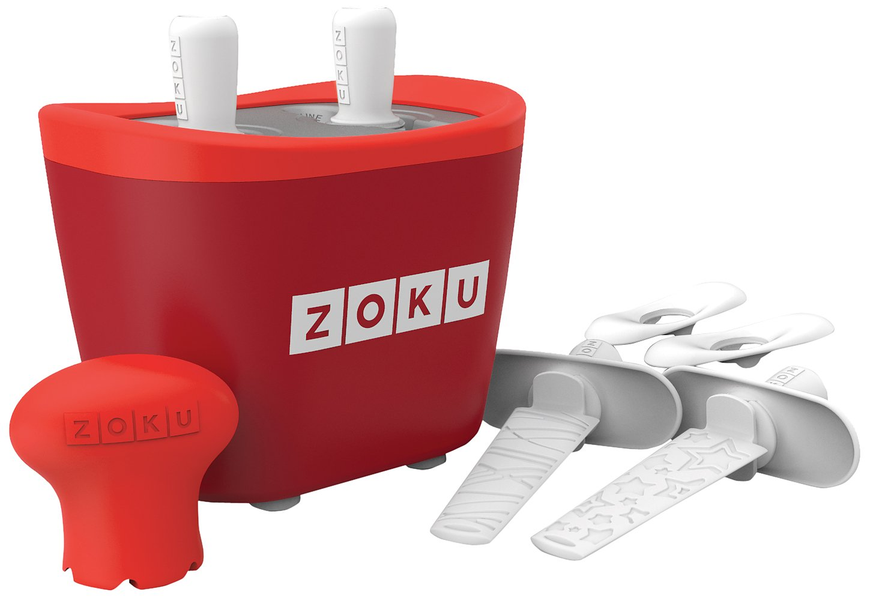 Zoku M285378 - Maquina Helados Doble Rojo ZK107-RD