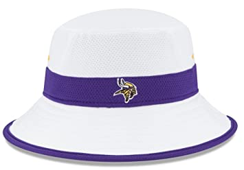 9db03c2df24 New Era Minnesota Vikings NFL 2015 Training Camp Sideline Bucket Hat ...