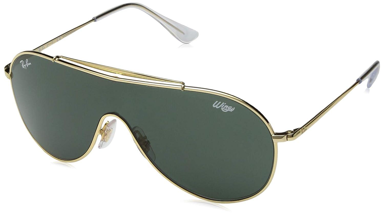 4f113ec59 Óculos de Sol Ray Ban Junior Wings Rj9546s 223/71/20 Dourado:  Amazon.com.br: Amazon Moda