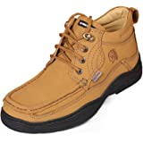 Red Chief Men's Rust Leather Casual Shoes (RC1211) UK 9