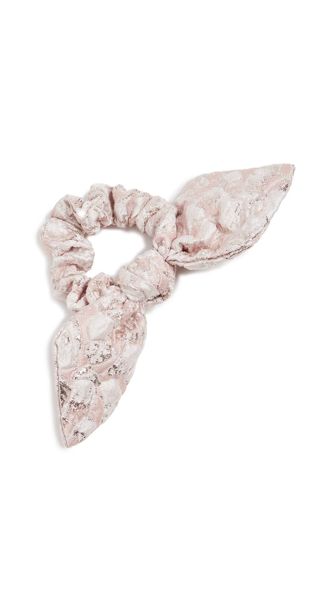 DANNIJO Women's Milan Scrunchie, Pink, One Size