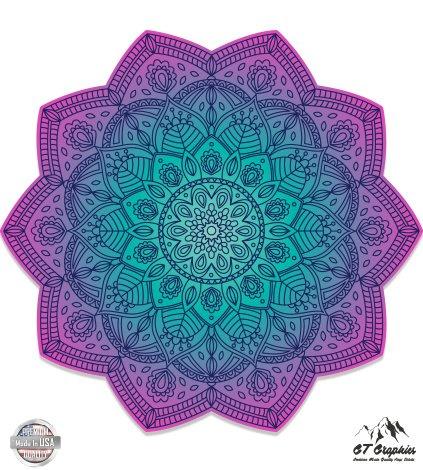 Detailed Mandala Beautiful Flower Design - 5
