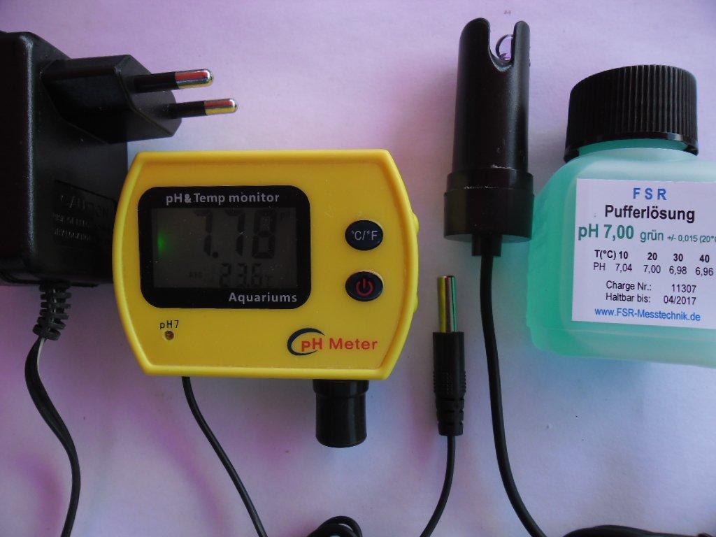 Misuratore Misuratore Misuratore pH con sonda da nuoto e visualizzazione temperatura PH Meter Acquario Acqua Test 579482