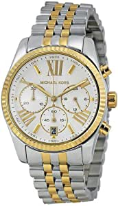 Michael Kors Women's Silver Dial Stainless Steel Band Watch - MK5955