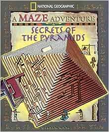 Secrets Of The Pyramids National Geographic Maze border=