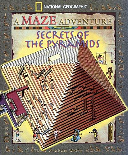 Books : Secrets Of The Pyramids: National Geographic Maze Adventures