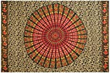 Sarong or Wall Hanging, Mandala - Assorted Only, Dark Backgrounds