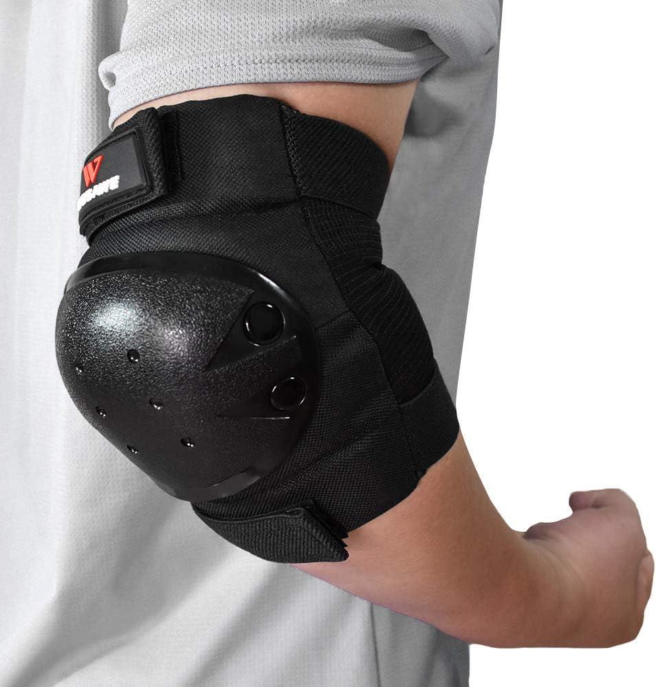 Allungato Coppia Moto Cross Ginocchiere Protezione Knee Pad Guard Kit Set