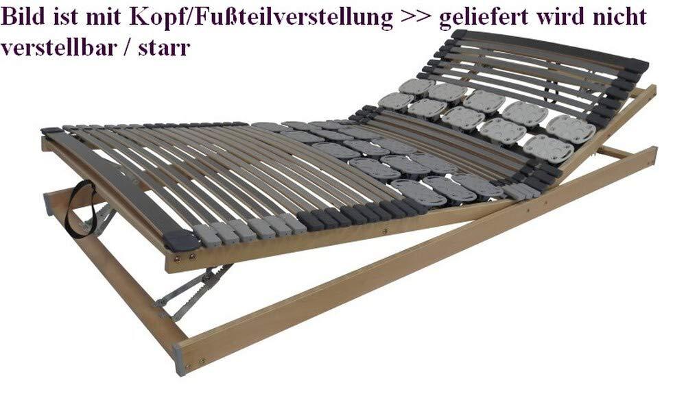 Belaro Duo System NV - Lattenrost Leisten/Teller, starr mit Lieferservice bis 4. Etage 120x200 cm