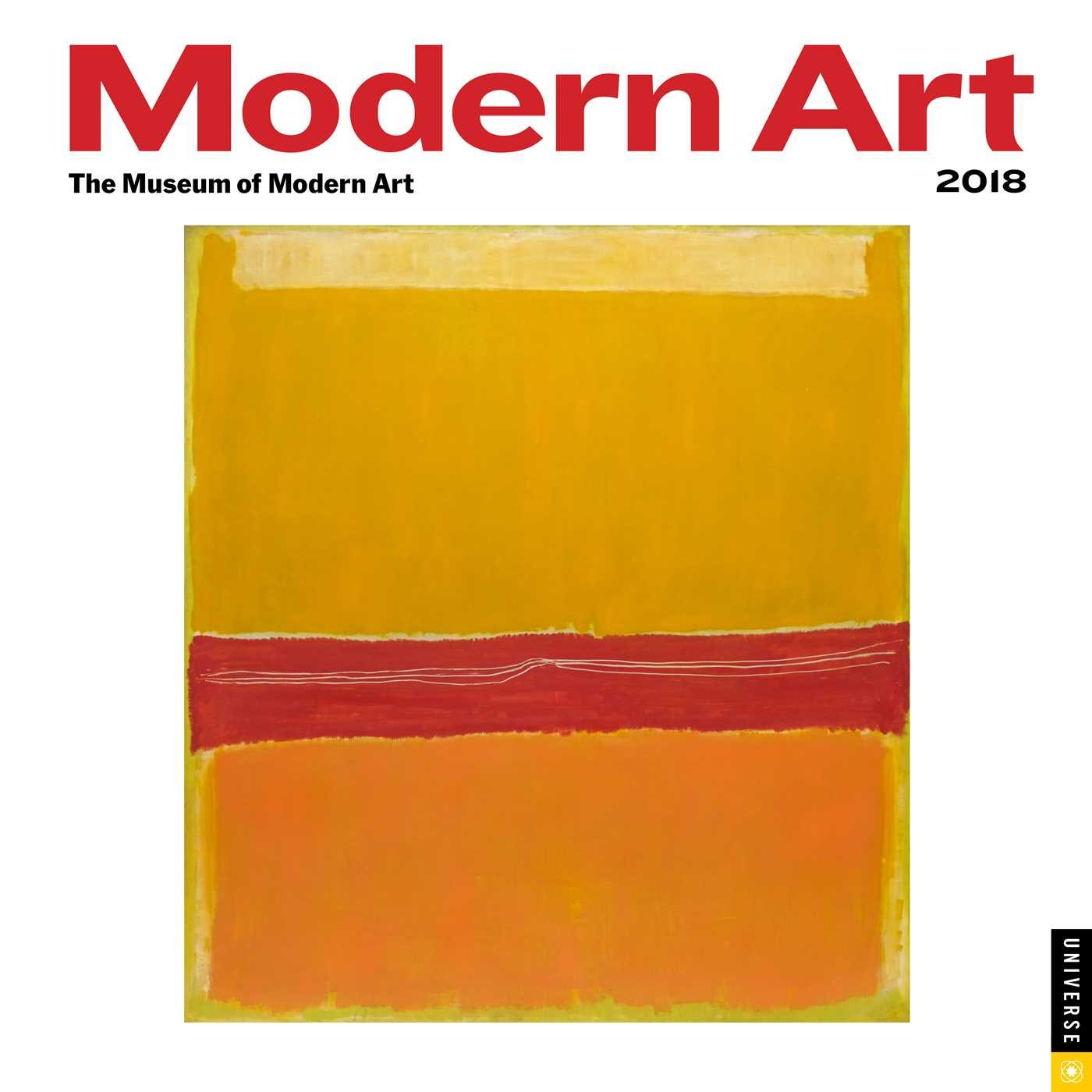 Modern Art 2018 Wall Calendar: The Museum of Modern Art ...