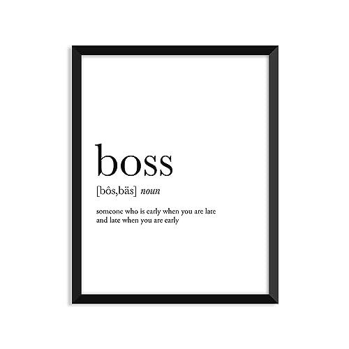 Amazon boss definition unframed art print poster or greeting boss definition unframed art print poster or greeting card m4hsunfo