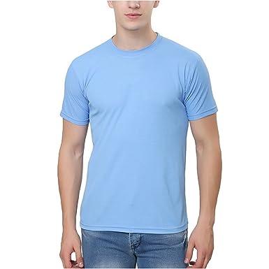 e8326f2e Trendy Trotters Sky Blue Round Neck T-Shirt for Men