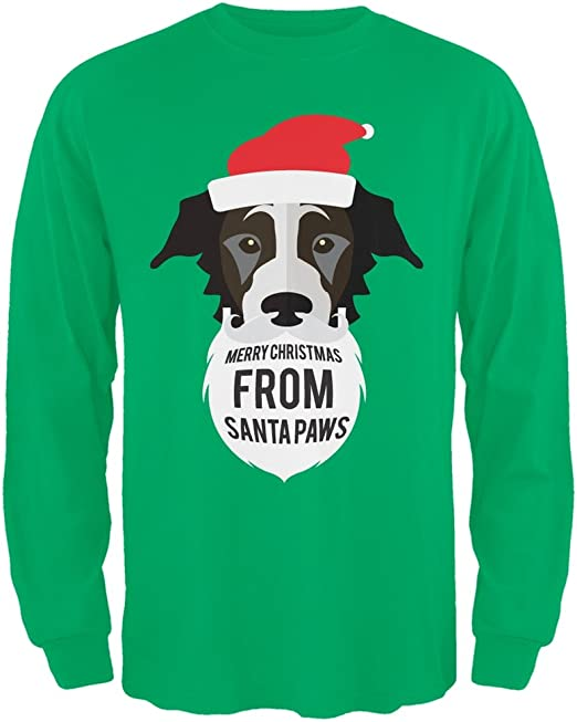 Droopy Dog Santa Ugly Christmas Sweater Red T-Shirt