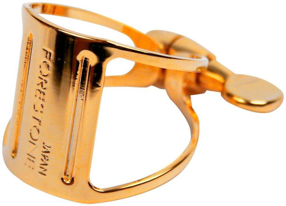 Forestone Cryogenic Treated Alto Saxophone Ligature Gold Plated