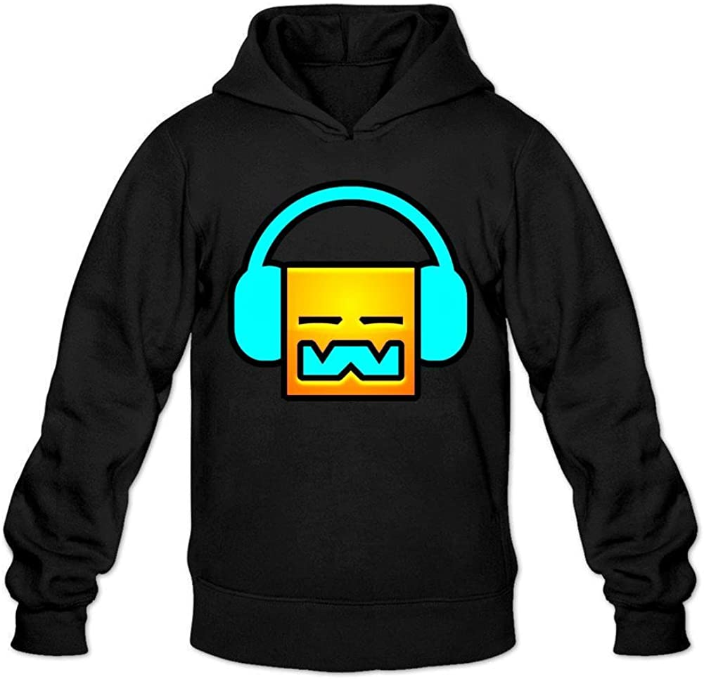LSLEEVE Men's Geometry Dash Hoodie