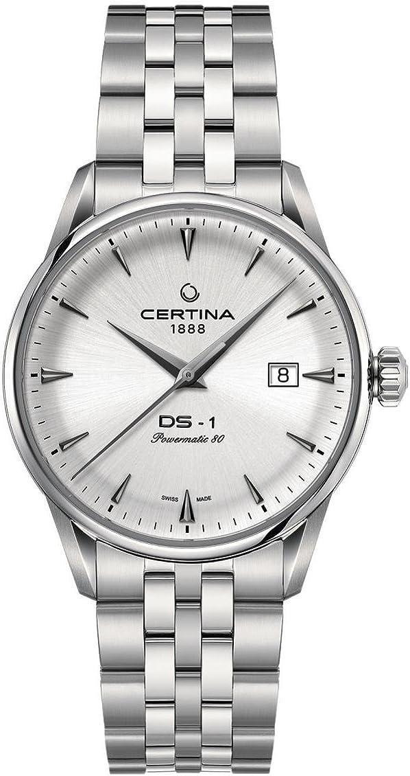 Certina DS-1 Powermatic-80 Reloj de hombre automático 40mm C029.807.11.031.00