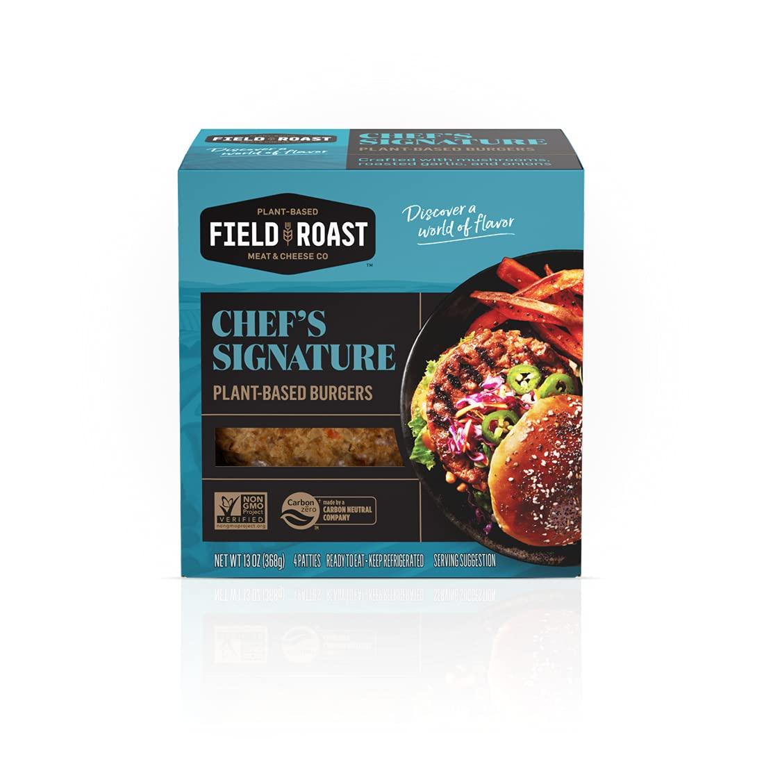 Field Roast FieldBurger 13 Oz (4 Pack)