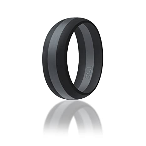 Amazoncom Silicone Wedding Ring By SOLEED Action Pro Series