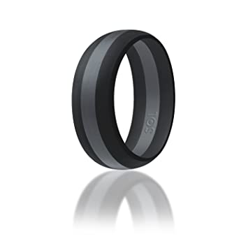 Amazoncom Silicone Wedding Ring By SOL Action Pro Series
